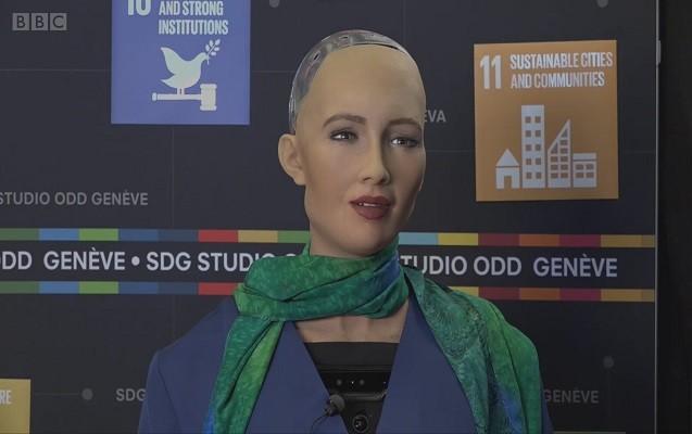 İnsana ən çox bənzəyən robot