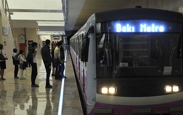 Bakı metrosunda əməliyyat