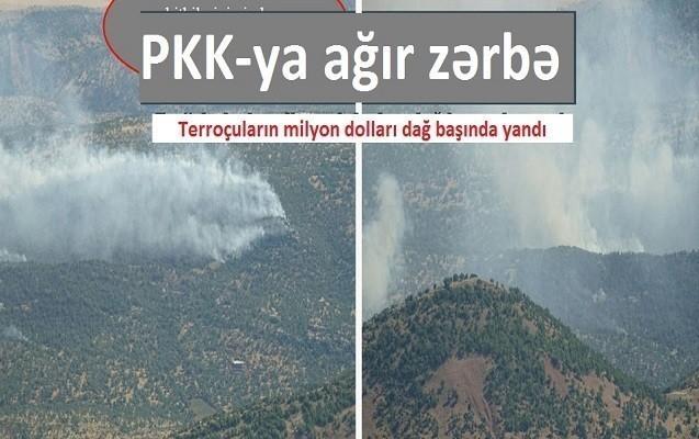 PKK-ya ağır zərbə