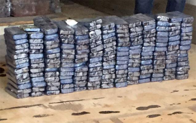 Polis 200 milyonluq kokain ələ keçirdi