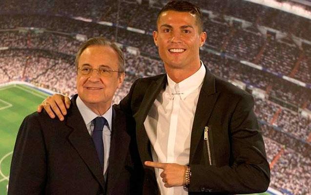 Peres Ronaldoya qiymət qoydu - 1 milyard avro