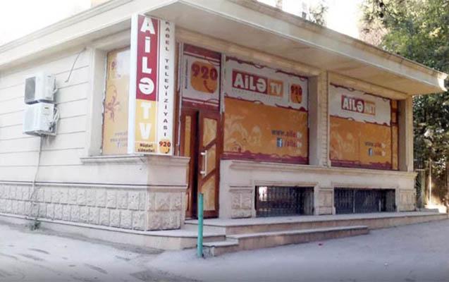"""""""Ailə TV""""nin ofisinə silahlı basqın"""