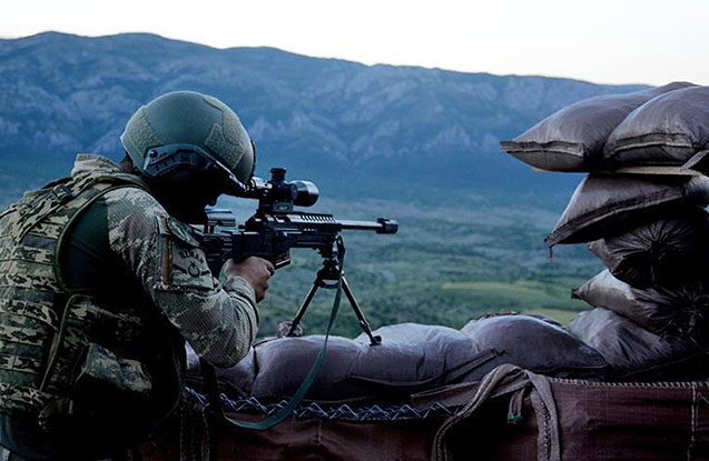 Siirtdə 6 PKK-lı terrorçu zərərsizləşdirilib