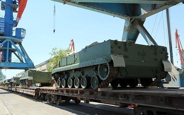 Bu da Rusiyadan aldığımız hərbi texnika
