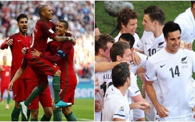 Portuqaliya və Meksika yarımfinalda