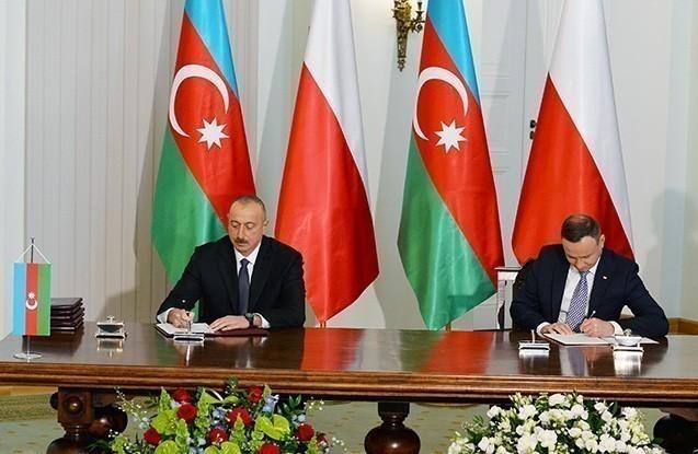 Azərbaycan-Polşa sənədləri imzalanıb
