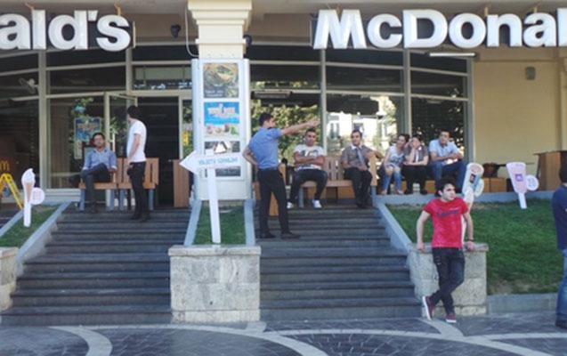Bakıda ilk açılan McDonalds bağlanır?