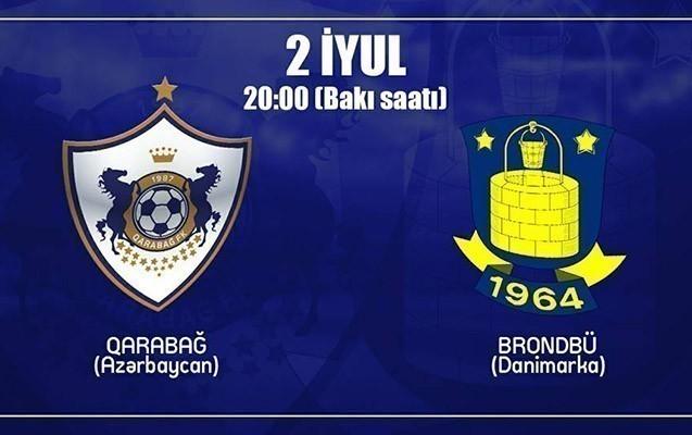 """""""Qarabağ"""" Danimarka klubu ilə qarşılaşacaq"""