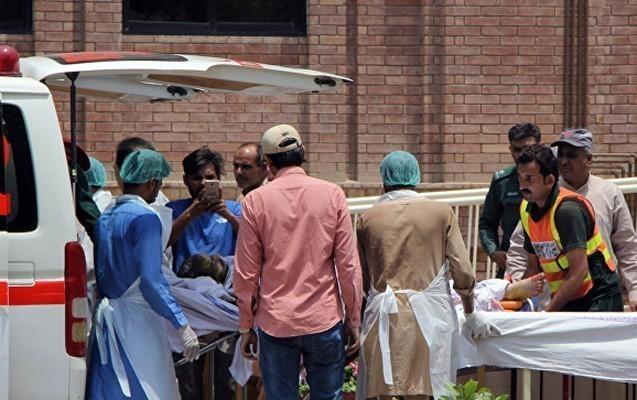 Pakistanda partlayışda ölənlərin sayı 173 olub