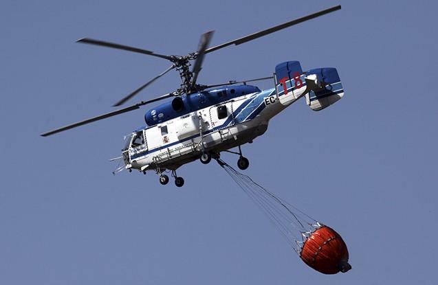 Türkiyədə helikopter qəzaya uğrayıb - Yaralanan var