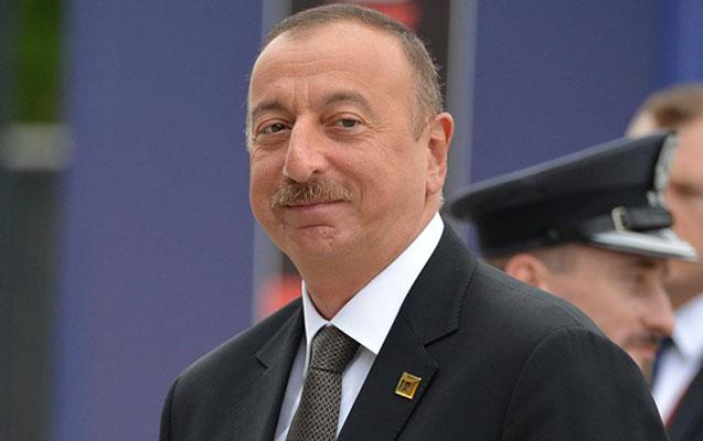İlham Əliyev Astanada