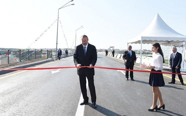 İlham Əliyev açılış etdi