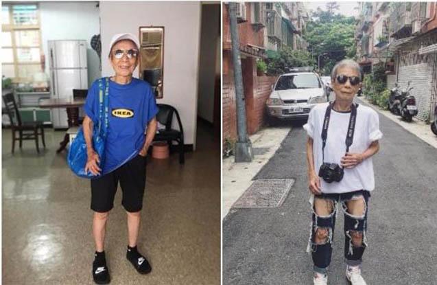 88 yaşında İnstaqram fenomeni oldu