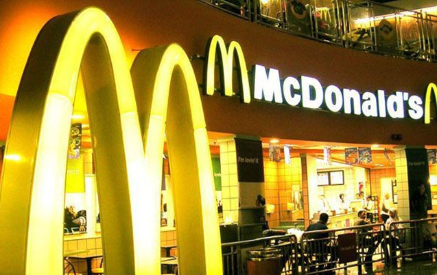 McDonald's 169 restoranını bağladı