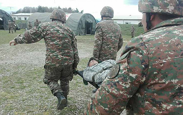 Ermənistan ordusunun əsgərləri döyülüb xəstəxanalıq oldular