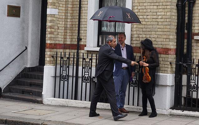 Londonda Qubadlının işğalına qarşı etiraz aksiyası erməniləri qəzəbləndirib