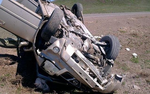 Lənkəranda yol qəzasında 2 nəfər yaralandı