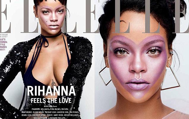 Cəsarətli Rihanna...
