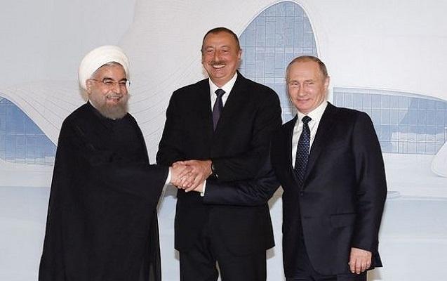 İlham Əliyev Putin və Ruhani ilə Tehranda görüşəcək