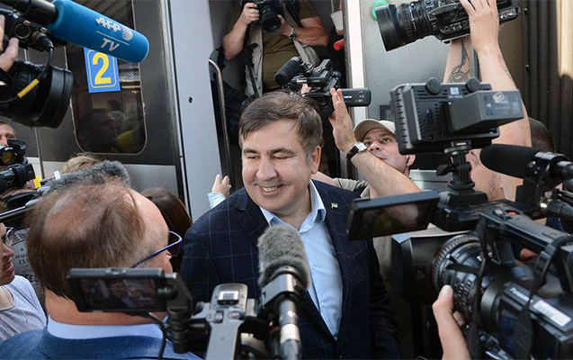 Saakaşvili ukraynalıları meydana çağırdı -