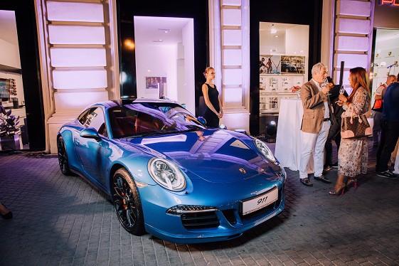Bakıda Porsche-nin daha bir salonunun açılış mərasimi olub