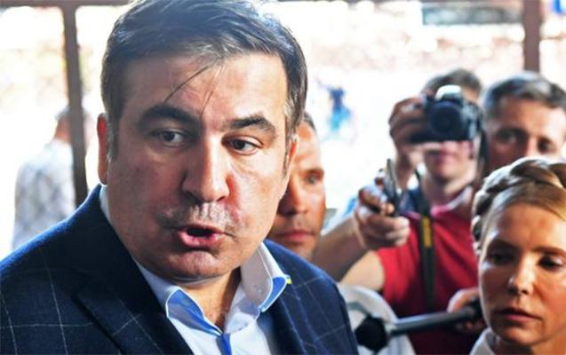 Xüsusi təyinatlılar Saakaşvilinin qaldığı oteli basdı