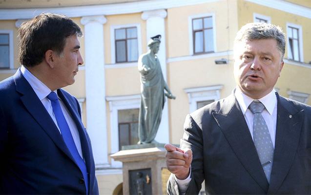 Saakaşvili Poroşenko ilə razılıqdan danışdı