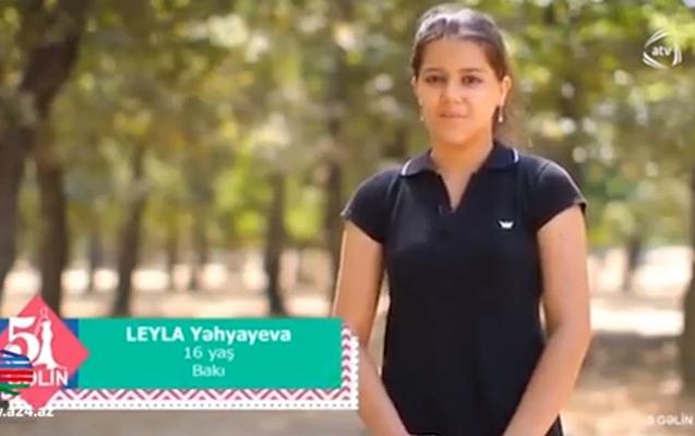 ATV 16 yaşlı qızı cehiz yarışı üçün efirə çıxartdı