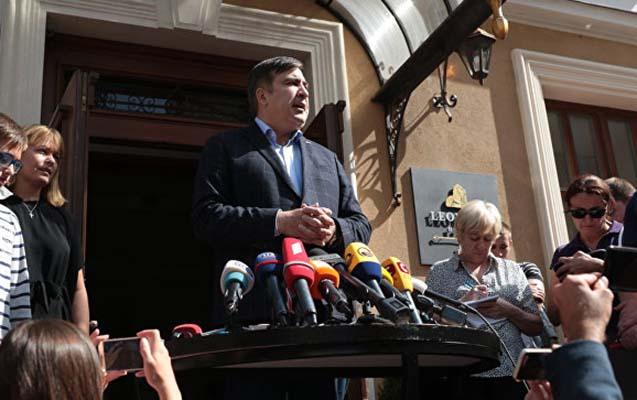 Saakaşvili Ukrayna turuna çıxacaq