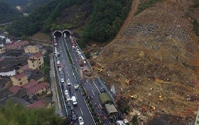 Çində torpaq sürüşməsi nəticəsində 7 nəfər ölüb