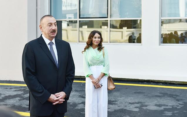 İlham Əliyev və xanımı - Qubada + Yenilənib