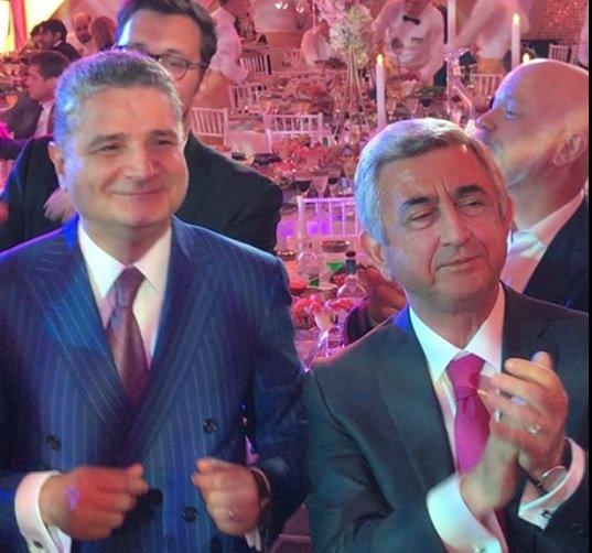 Sarkisyan, Peskov və Puqaçova erməni milyarderin oğlunun toyunda - Fotolar