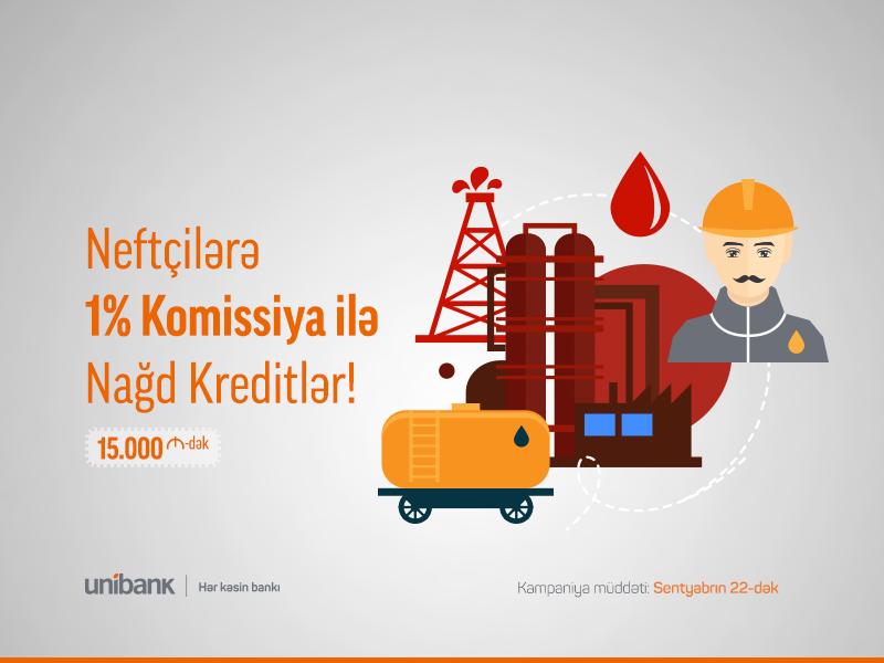 Unibank Neftçilər üçün kampaniya keçirir