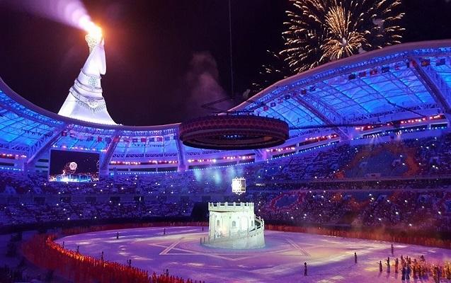 V Asiya Oyunlarının açılışı olub