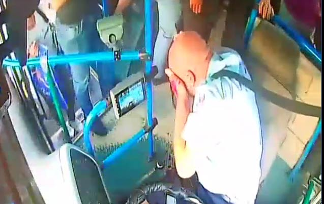 Bakıda daha bir avtobus sürücüsü vəhşicəsinə döyüldü