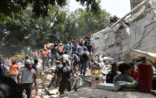 Meksikada güclü zəlzələdə 47 nəfər öldü