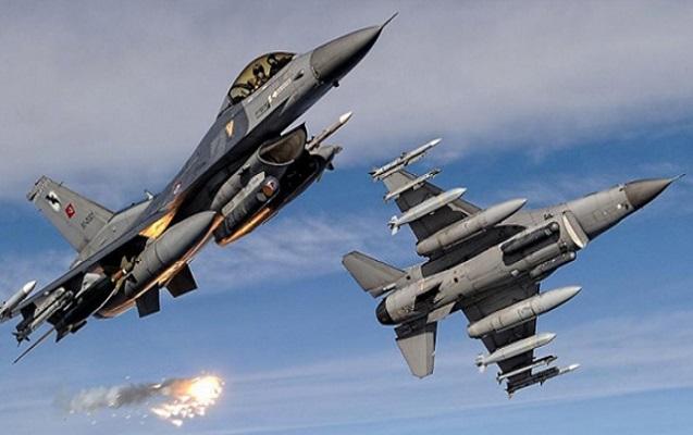 Türkiyə İraqın şimalını bombaladı