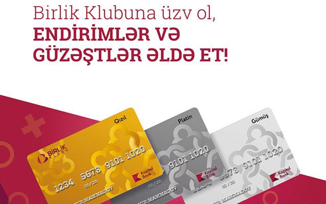 """""""Birlik Klubu""""na qoşul, endirim və güzəştlər əldə et!"""