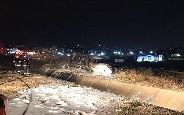 İstanbulda təyyarə qəzasında 4 nəfər yaralandı