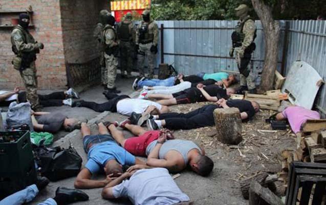Ukraynada azərbaycanlı avtoritetlər saxlanıldı