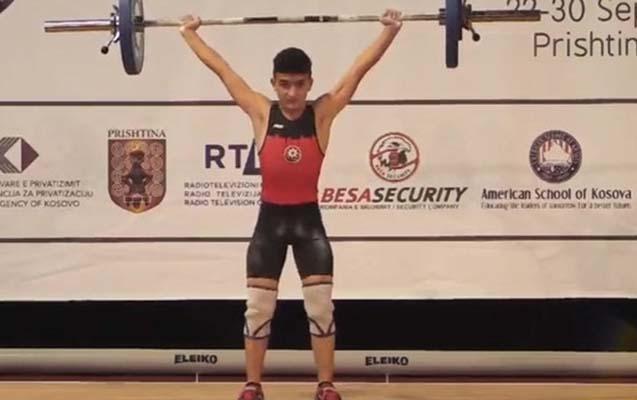 13 yaşlı atletimiz Avropa birinciliyinin bürünc mükafatçısı oldu
