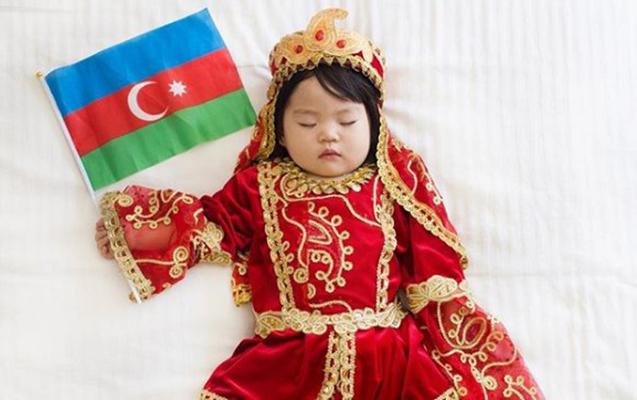 Balaca fenomen Azərbaycan milli geyimində