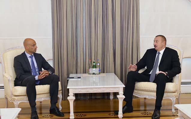 Prezident NATO baş katibinin xüsusi nümayəndəsini qəbul edib