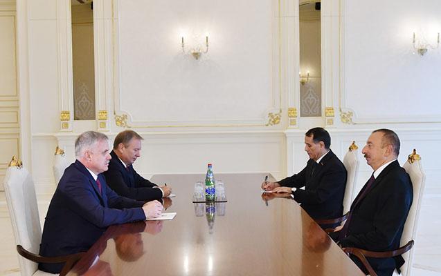 Prezident Belarusun Təhlükəsizlik Şurasının dövlət katibini qəbul edib