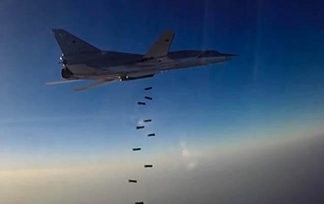 Rusiya Suriyada 1310 hədəfi vurdu