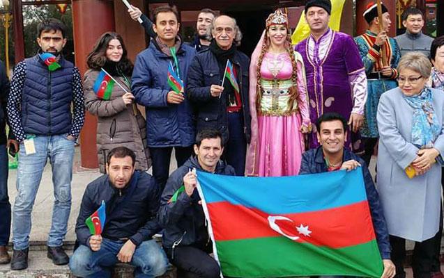 Azərbaycanlı aktyorlar Beynəlxalq Festivalda