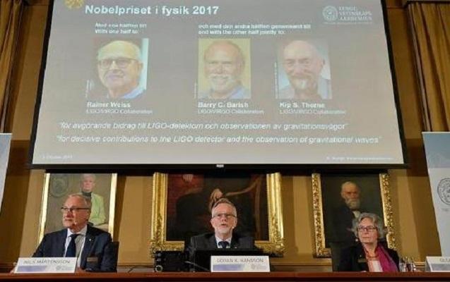 Fizika üzrə Nobel mükafatçıları açıqlandı