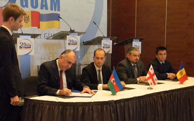 GUAM xarici işlər nazirləri Tbilisi Bəyannaməsi imzaladılar