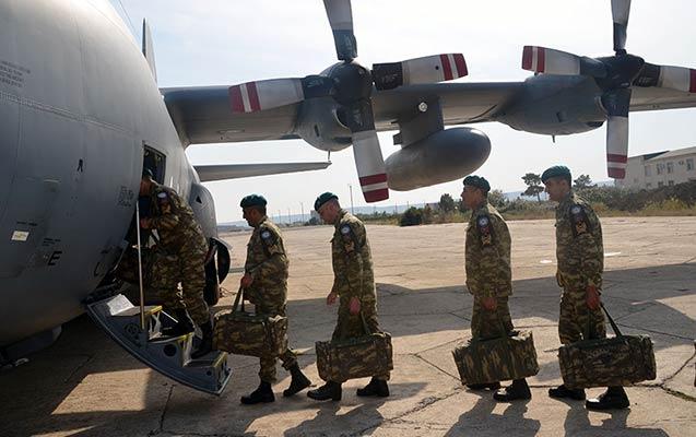 50 hərbi qulluqçumuz Əfqanıstana yola salındı