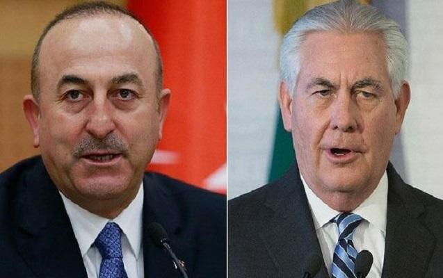 Çavuşoğlu və Tillerson arasında telefon danışığı olub